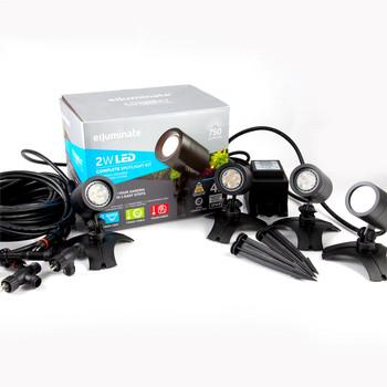 Elluminate LED Spot Light 4 Set Kit - Warm White