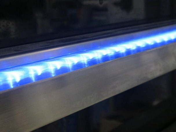 1500mm wide MULTI COLOUR LED Light Bar & Spillway Blade Water Feature