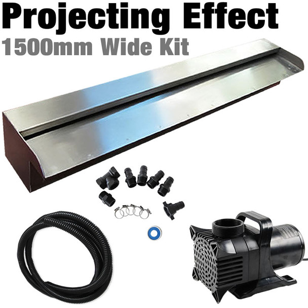 SAVER 1500 - Water Feature Wall Kit Projecting Effect-1500mm Spillway FREE SHIPPING