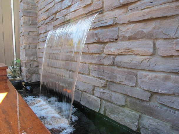 SAVER 600-Water Wall Feature Projecting Effect Kit-600mm Wide Spillway