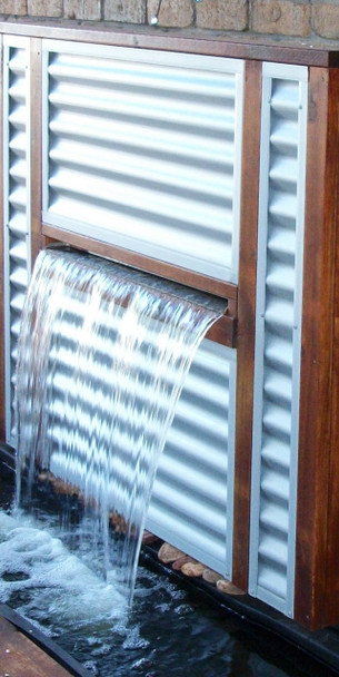 SAVER 1200 - Water Feature Wall Kit Projecting Effect - 1200mm Spillway FREE DELIVERY