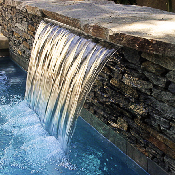 900mm Wide Water feature Spillway Blade - FREE SHIPPING