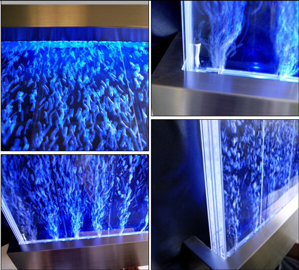 WALL MOUNT Bubble Panel Water Feature - 570mm Wide x 1220mm High