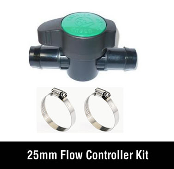 Flow Controller 25mm Set