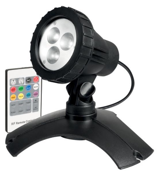 RGB LED light for garden.
