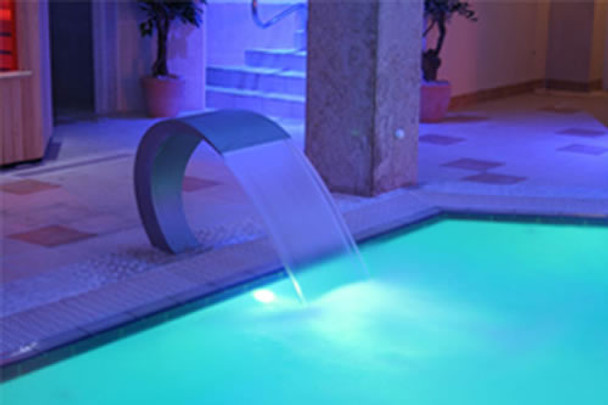 Swimming Pool stainless steel waterfall Pacific300