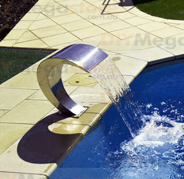Swimming Pool waterfall feature Pacific600