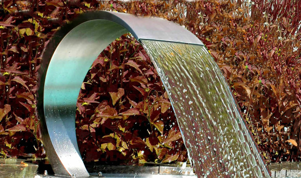 Swimming Pool stainless steel waterfall Pacific600