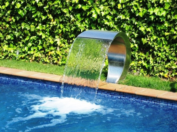 Pacific600 Mirror Polish Finish - Water Fall Feature