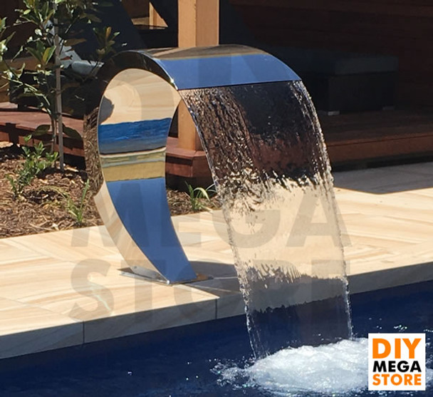 Luponds Water Curtain Stainless Steel Feature