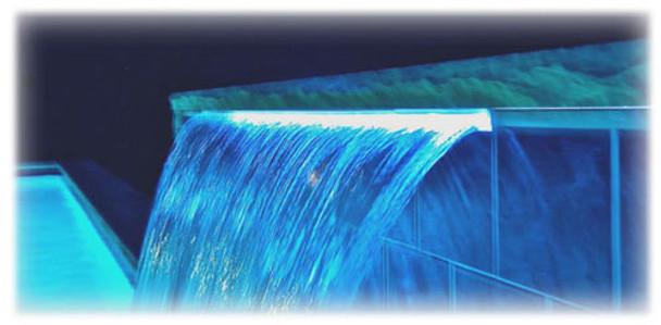 1500mm Acrylic Water Blades - 135mm Lip