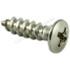 Raised head self tapping screw stainless XR