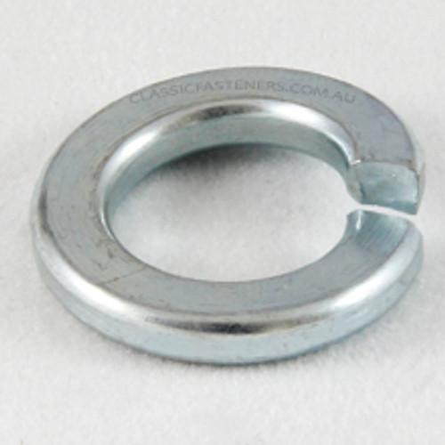 Spring washer zinc