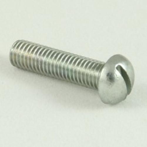 Round head machine screw