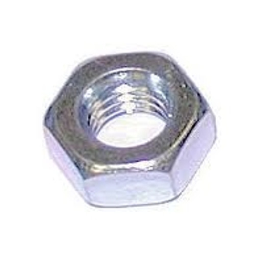 Std Hex Nut Steel Zinc : 1/8 BSW