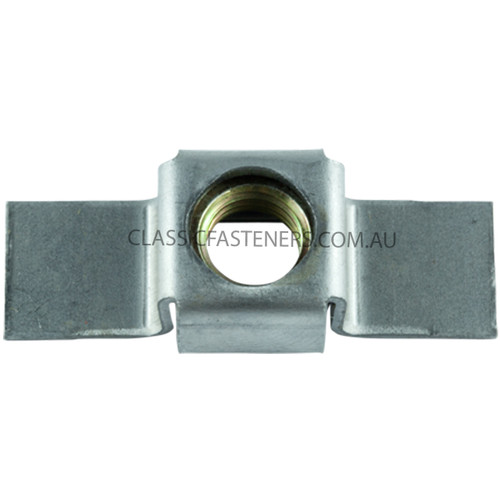 1/4 BSW Cage Nut
