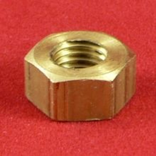 Std Hex Nut Brass 5/16 BSF