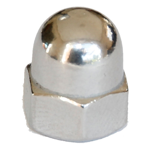 Dome nut stainless 1 piece