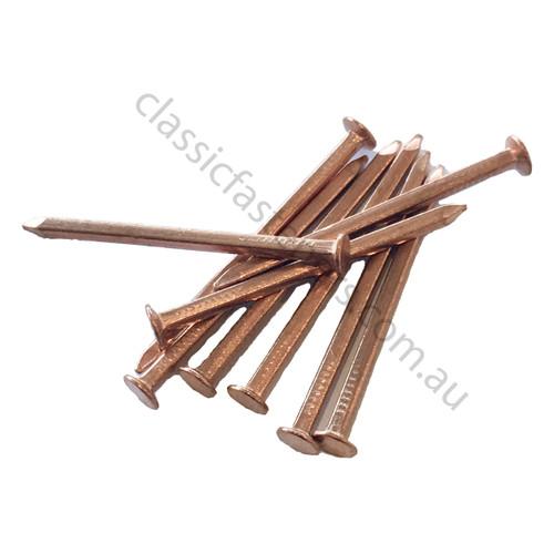 Copper boat nail