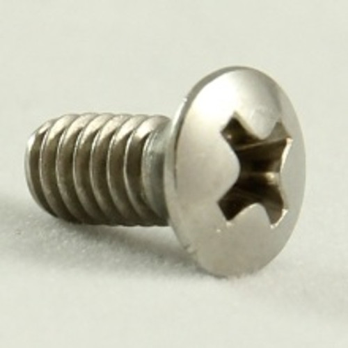 Oval head metal thread