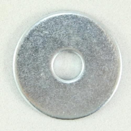 Flat Washer Zinc 1/4 x 1 OD x 16G. Qty: 1