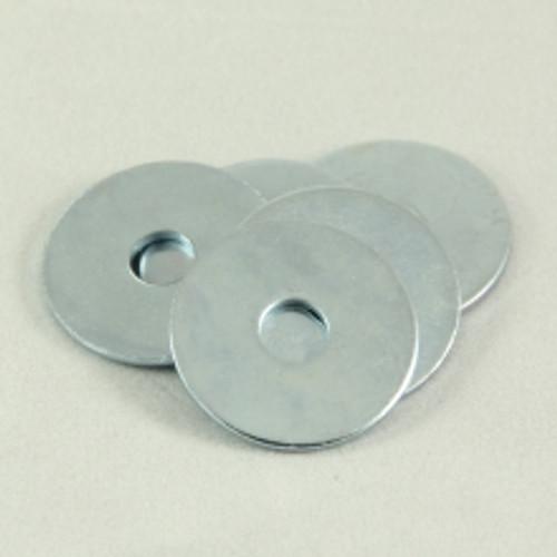 Flat Washer Zinc 1/4 x 1 OD x 16G. Qty: 200