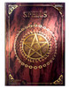 Red Pentagram Spell Book / Journal 15x20cm Luna Lakota