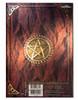 Luna Lakota Red Pentagram Spell Book / Journal 17x12cm