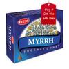 Myrrh Hem Incense Cones