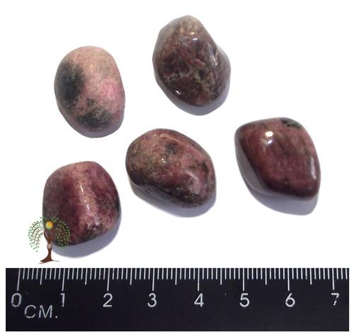 Rhodonite Tumbled Stone 20-25mm