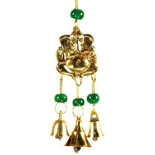 Three Bell Ganesh Wind Chime