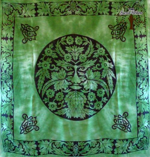 90cm Greenman Altar or Tarot Cloth