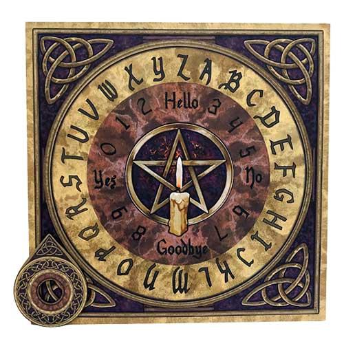 Pentagram Spirit Board / Ouija Board