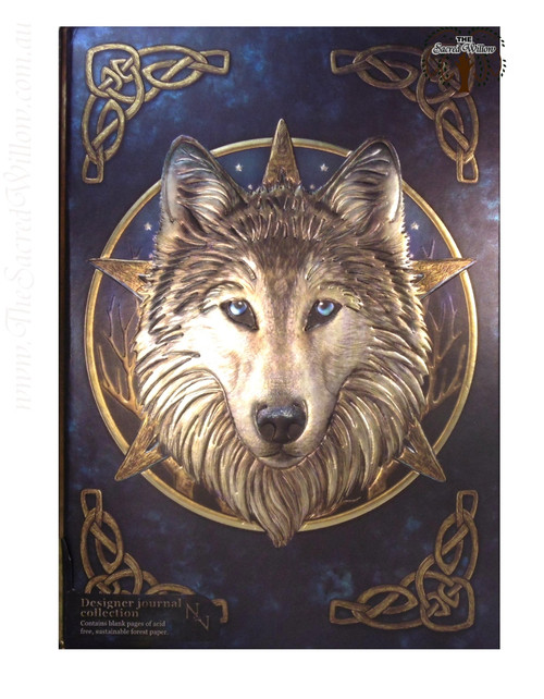 Wilde One Wolf Journal 15x20cm Lisa Parker