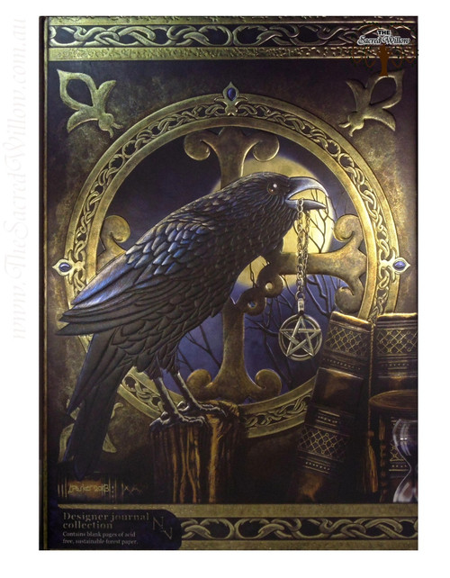 Lisa Parker Raven and Talisman Spell Book / Journal 17x12cm