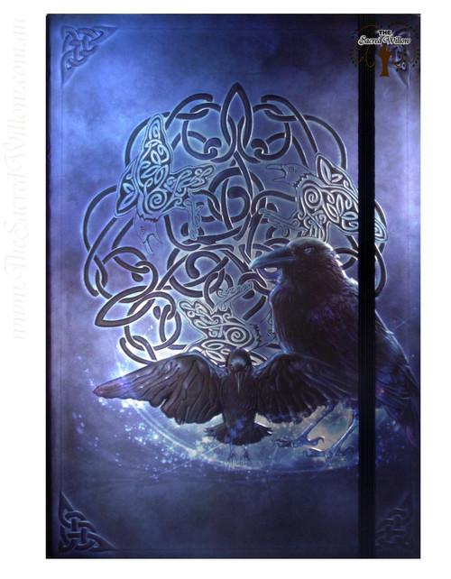Celtic Raven Spell Book / Journal with Pen 14.5x21cm