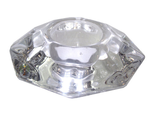 Reversible Glass Chime Candle Holder 63mm