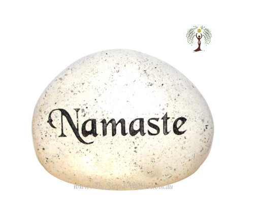 Namaste Engraved Decorative Stone
