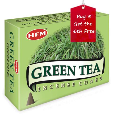 Green Tea Hem Incense