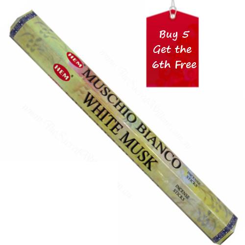 White Musk Hem Incense