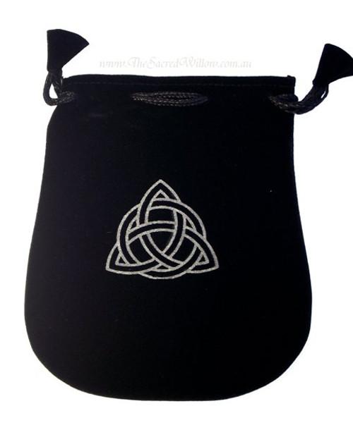 "Triquetra Velveteen Bag / Mojo Bag 13cm / 5"""