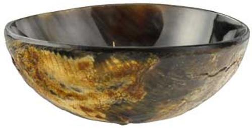Carved Bone Ritual Bowl 10cm