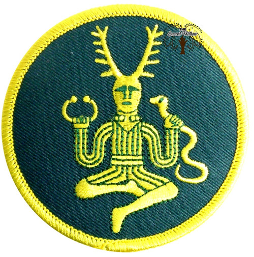 "Cernunnos 3"" Iron On Patch"