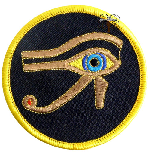 """Eye of Horus 3"""" Sew On Patch"""