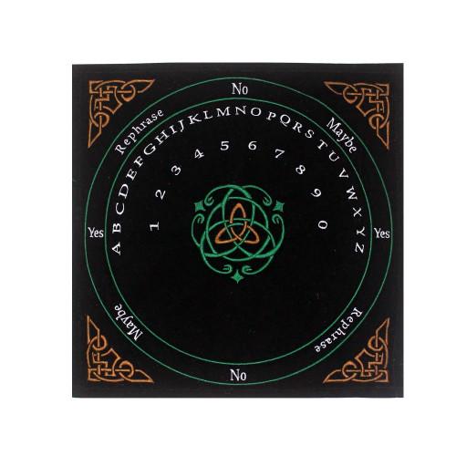 Celtic Triquetra Pendulum Mat 30 x 30cm