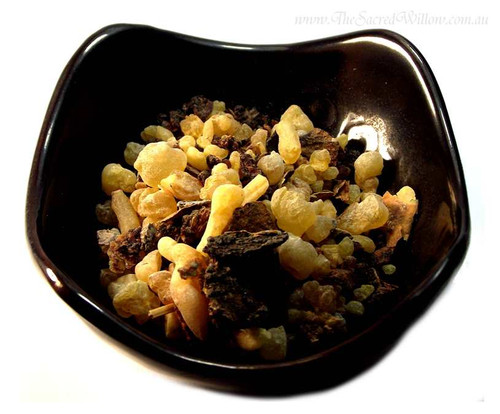 Frankincense Myrrh Mix Granules 25g - Resin Incense