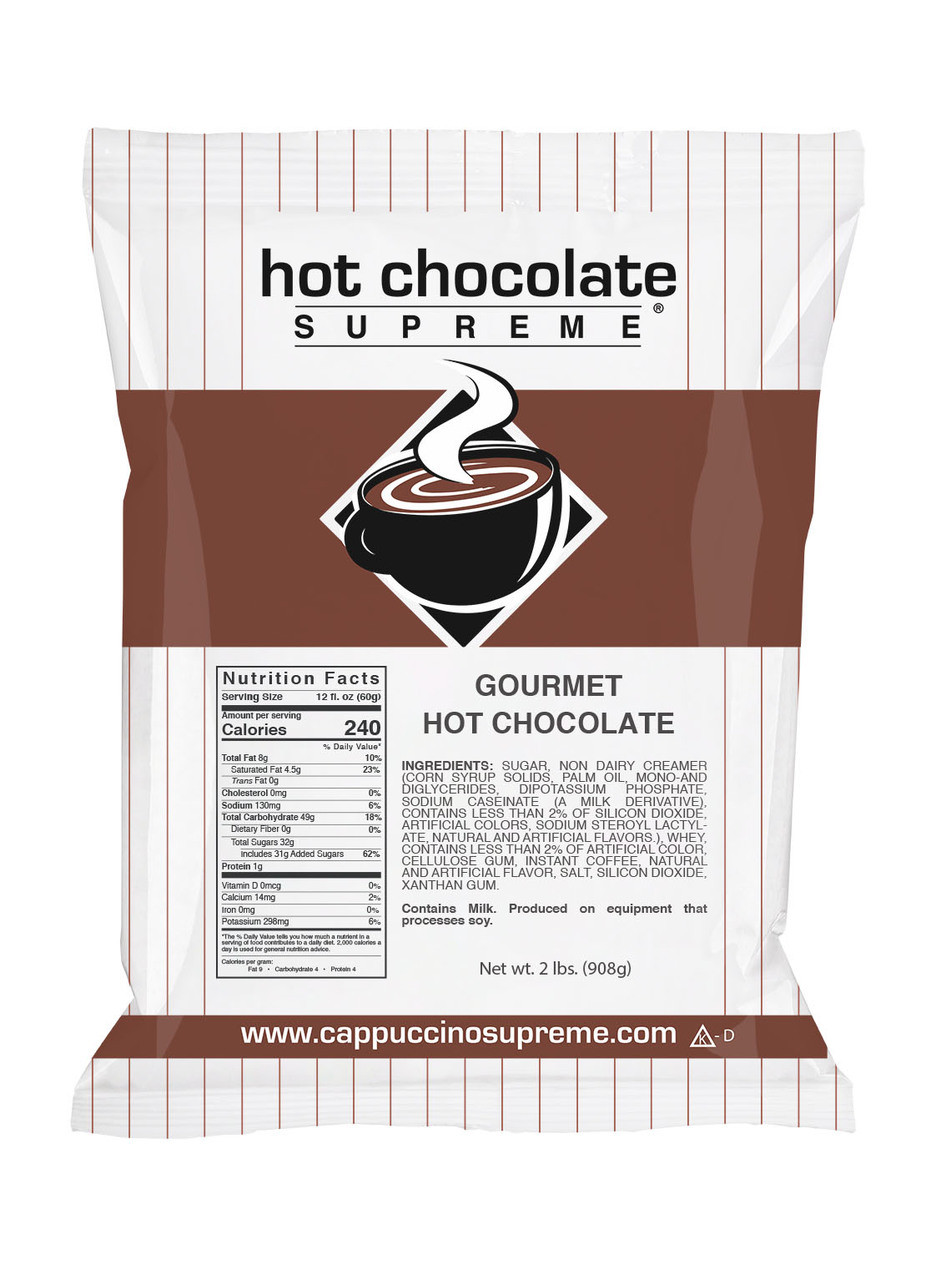 Hot Chocolate Supreme® Instant Gourmet Hot Chocolate Mix