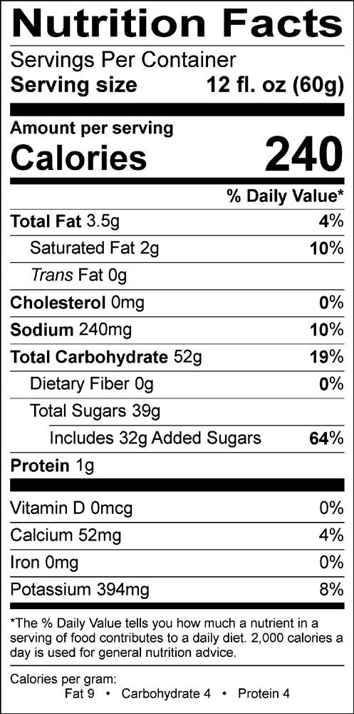Candy cane cappuccino supreme nutrition