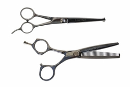 Love2Pet Set of Two Snip 'n Clip Pet Grooming Scissors - Rust Resistant - Stainless Steel