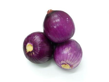Onions - USA Peeled Red - per kg